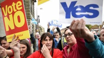¿Escocia bajo la corona? Leve ventaja del NO