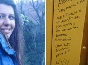 Misterioso mensaje sobre María Cash en un pueblo de Santa Cruz