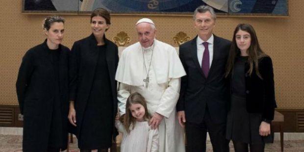 """Macri se reunió con el Papa y dijo que tuvieron """"una larga charla sobre lo que pasa en la Argentina"""""""