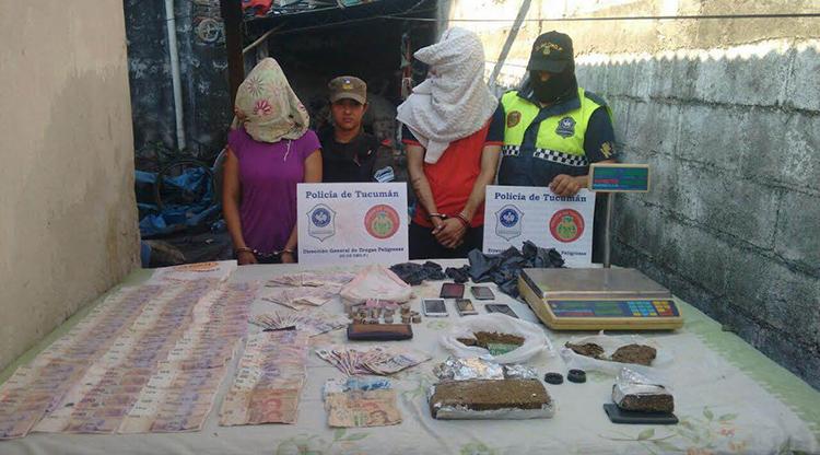 Procedimientos y detenciones por venta de droga