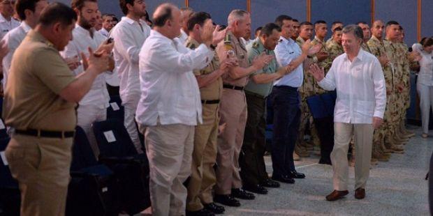 El Gobierno de Colombia firmó la paz con las FARC