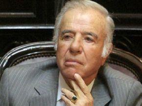 Citan al ex presidente Menem a declarar como testigo de la muerte de su hijo