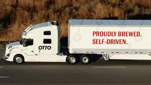 Un camión autónomo de Uber realizó el primer viaje comercial de carga sin chofer