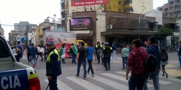 Quedaron en libertad los demorados durante la pelea entre estudiantes