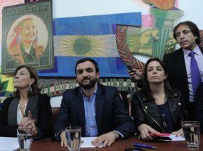 El Evita rompió el bloque kirchnerista en Diputados