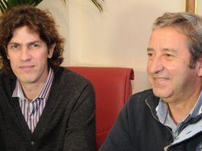 Lousteau con Cobos en Mendoza