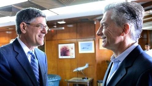 Macri se reunió con el secretario del Tesoro de Estados Unidos