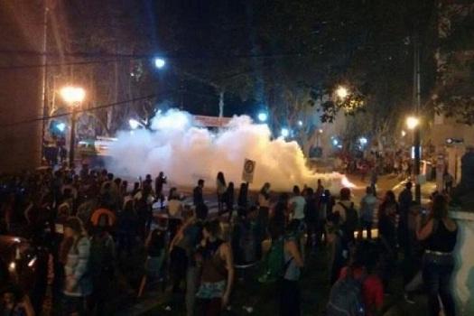 Incidentes y represión en el Encuentro de las Mujeres de Rosario