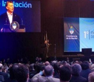"""Macri: """"Sabemos que estamos lejos de la pobreza cero, pero el primer paso es construir un país verdaderamente federal"""""""