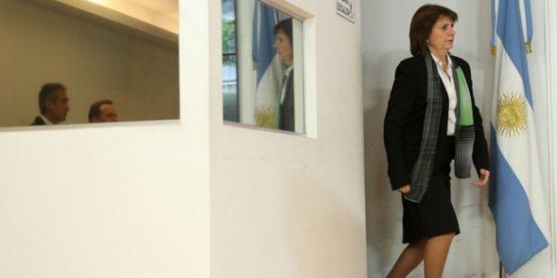 Patricia Bullrich tiene las horas contadas en Seguridad