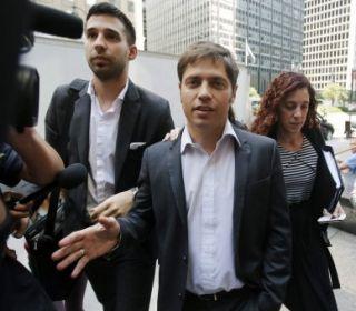 Kicillof criticó el sistema judicial de los estados Unidos