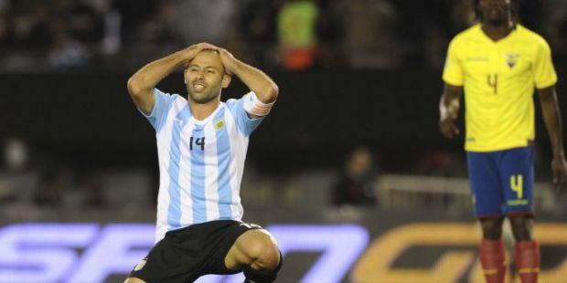 Papelón: una Argentina deslucida cayó ante Ecuador en Núñez