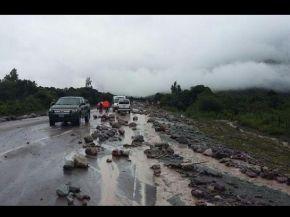Jujuy: sigue cortada la ruta 9 en Volcán y hay alerta por posibles aluviones y tormentas