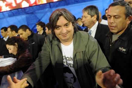 """Máximo Kirchner: """"Quieren avanzar sobre las conquistas de los trabajadores"""""""