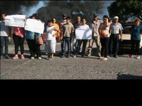 Por falta de agua, cortaron el acceso a Villa Mariano Moreno