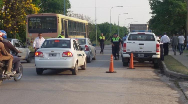 La Policía realizó controles vehiculares en la Capital