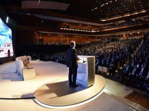 Macri pidió a los empresarios extranjeros que inviertan en Argentina