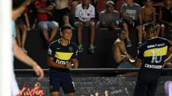 Boca le ganó a Colón en Santa Fe