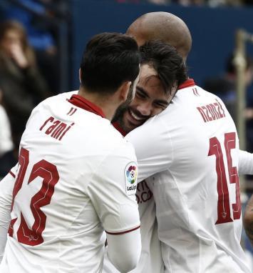 El Sevilla de Sampaoli ganó e hizo historia en la liga española