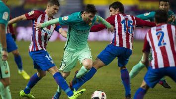 Triunfazo del Barcelona, con un Messi imparable