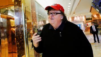 Michael Moore realiza una nueva predicción sobre Trump