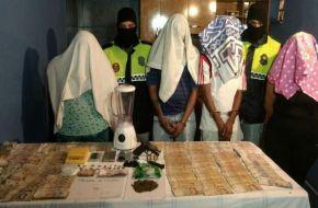 """Detuvieron a """"La Gorda Naty"""" dueña de una fortuna por la venta de droga en el barrio Antena"""