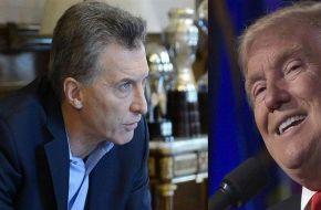 Macri hablará por teléfono con Donald Trump
