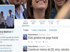 Hackearon la cuenta de Twitter de Patricia Bullrich