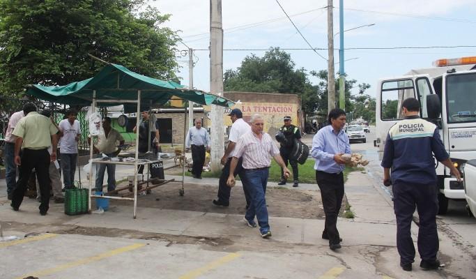 El Municipio decomisó 180 kgs de carne y embutidos comercializados en la vía pública