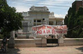 El intendente Alfaro convocó por decreto a una sesión extraordinaria para tratar la expropiación de la Casa Sucar