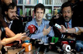 """Diego Lagomarsino: """"Nisman tomó la decisión de dispararse; no sé por qué"""""""