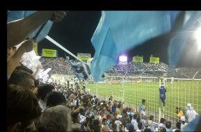 Recibimiento al Decano en su debut en el Grupo 5 de la Copa Libertadores