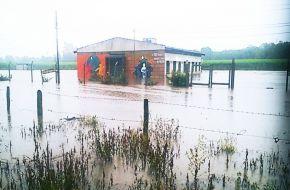 Varias localidades del sur de Tucumán se vieron afectadas por las intensan lluvias