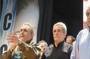 Lo aseguró Carlos Acuña, integrante del triunvirato, al participar del acto docente y previo a la marcha de mañana.