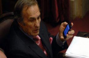 Por problemas de salud, Reutemann no renueva como vice del Senado