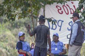 Las FARC iniciaron el desarme en un día histórico para Colombia