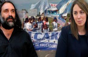 Vidal contraataca con más dureza: prometió descontar los días de paro