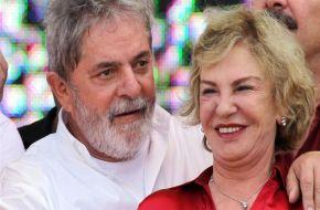 Murió la esposa de Lula, tras sufrir un derrame cerebral hace más de una semana