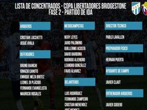 Lavallén confirmó a los concentrados de Atlético para jugar ante El Nacional