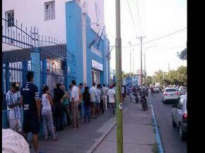 Largas colas para ver a Atlético en la Libertadores