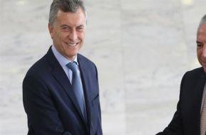 Macri y Temer acordaron impulsar el Mercosur y buscan acercarse a México