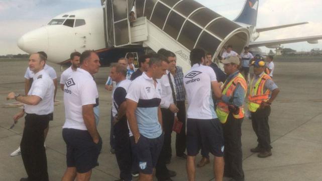 Atlético ya se encuentra en Quito