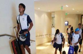 Luego de un largo viaje, el plantel de Atlético llegó a Cartagena
