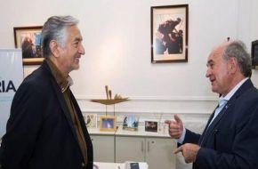 """Rodríguez Saá se reunió con Parrilli y pide por un """"peronismo unido"""""""