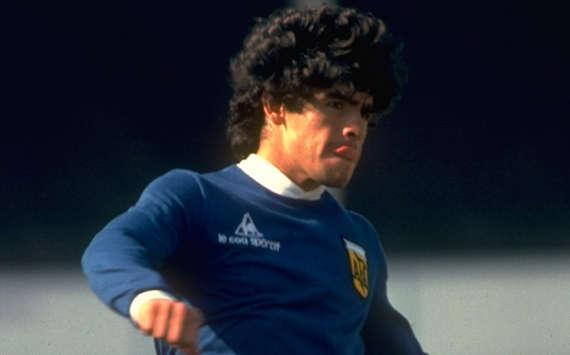 A 40 años del debut de Maradona en la Selección