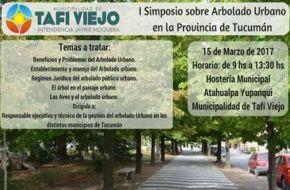 Primer Simposio Sobre Arbolado Urbano en la Provincia de Tucumán
