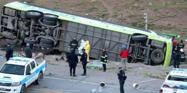 Se conoció la nómina de pasajeros del trágico vuelco de un colectivo que tenía por destino Chile