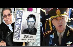 Milani volivó a Tucumán a declarar en tribunales federales por la desaparición del soldado Ledo