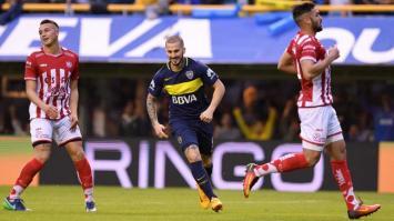 Boca le ganó por 2-1 a Unión y festejó el campeonato en La Bombonera