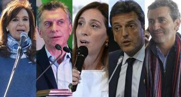 Cristina, Macri, Vidal, Massa y Randazzo: equilibristas sin red